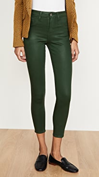 Margot Coated High Rise Skinny Jeans