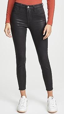 Margot High Rise Coated Skinny Jeans