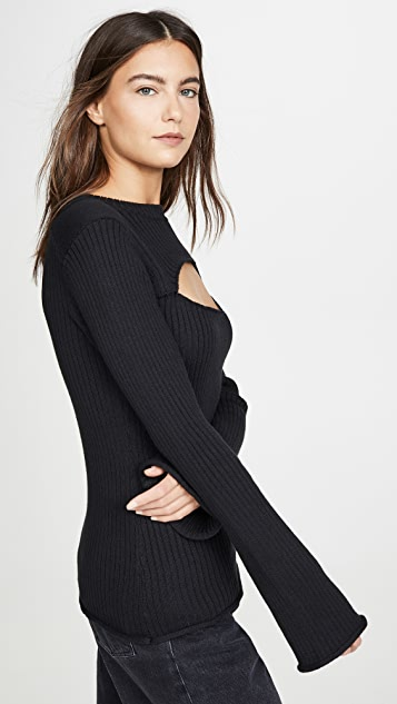 L'AGENCE Pasha Sweater