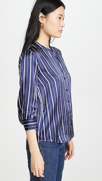 L'AGENCE Aoki 3/4 Sleeve Blouse