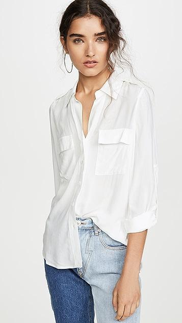 L'AGENCE Lunetta Shirt