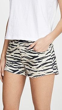 Audrey Mid Rise Wildcat Shorts