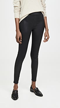 Rochelle Coated Pull On Jeans