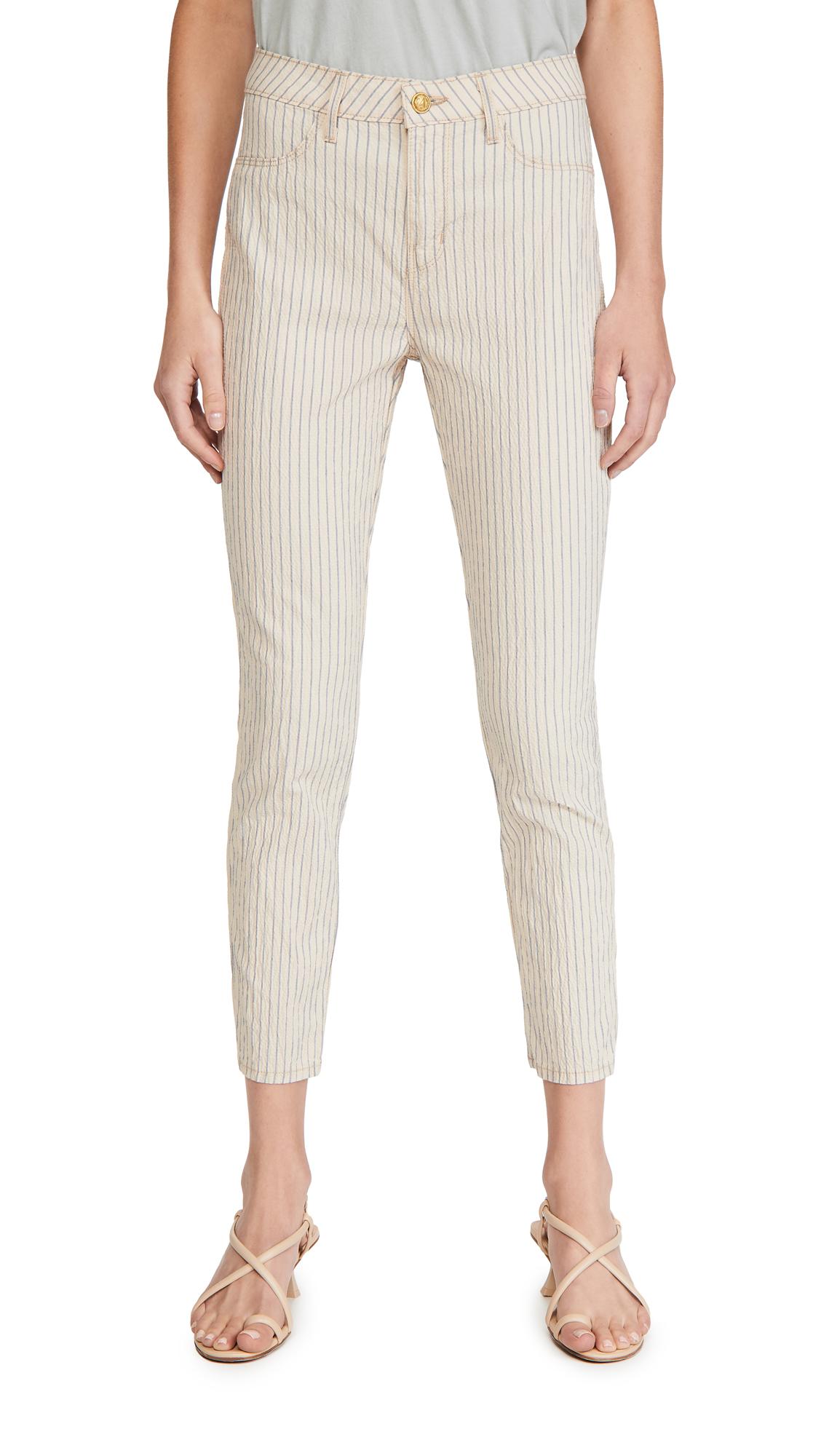 L'AGENCE Mandy H/R Skinny Jeans