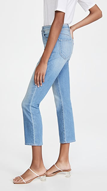 L'AGENCE Nadia Crop Straight Jeans