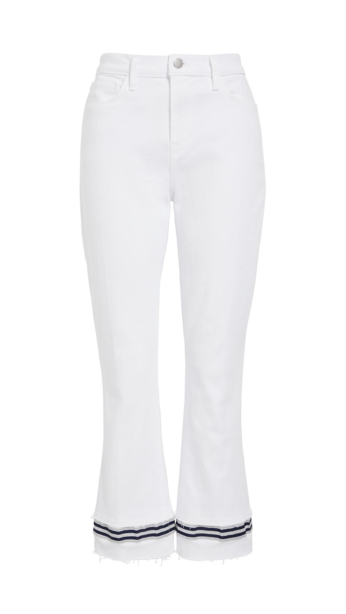L'AGENCE Jada Tape Hem Jeans