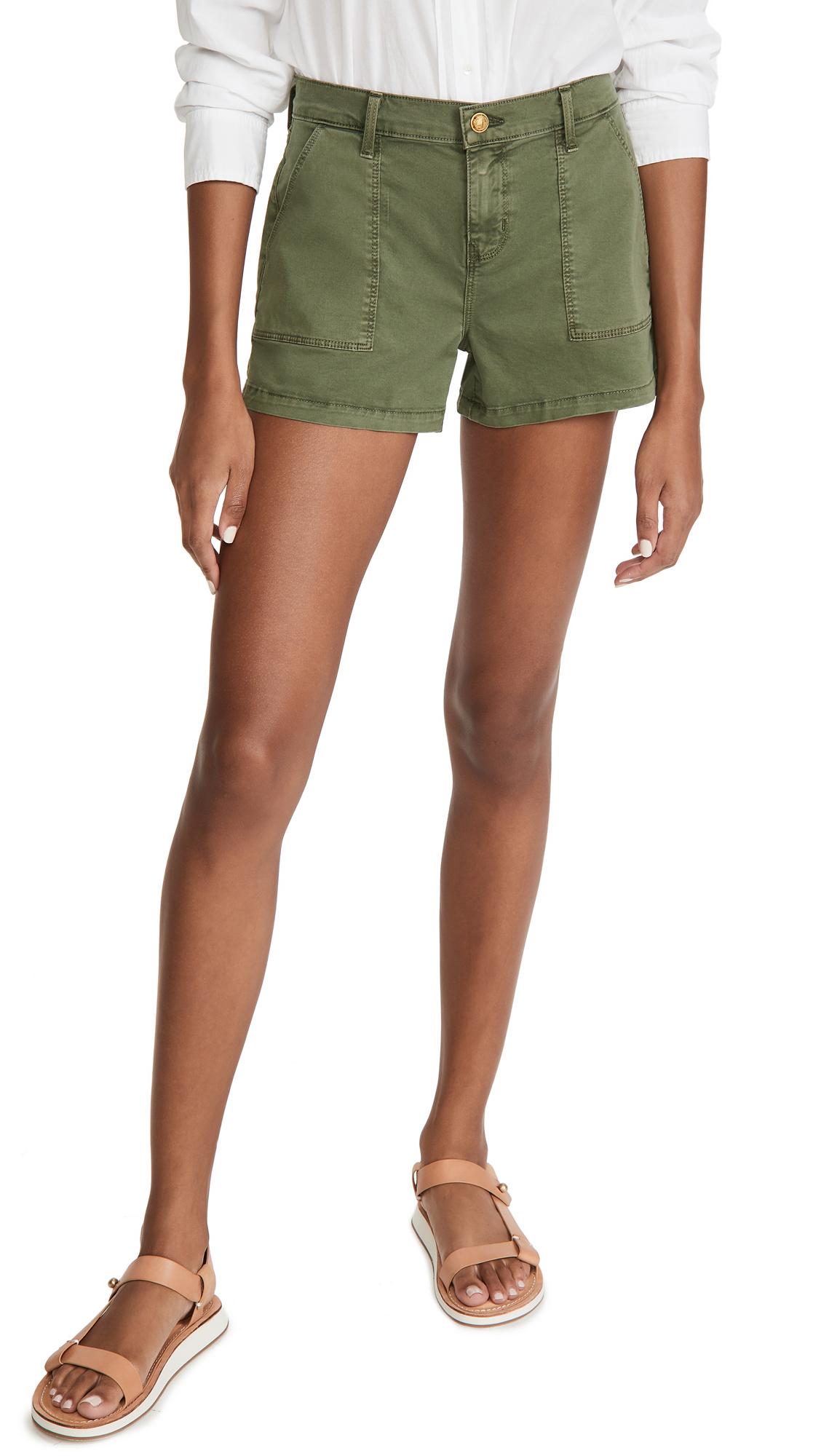 L'AGENCE Pamela Utility Shorts