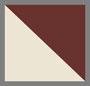 Tan/Burgundy Houndstooth