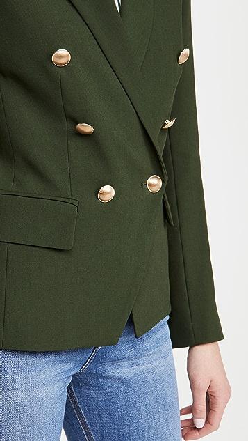 L'AGENCE Kenzie 双排扣西装外套