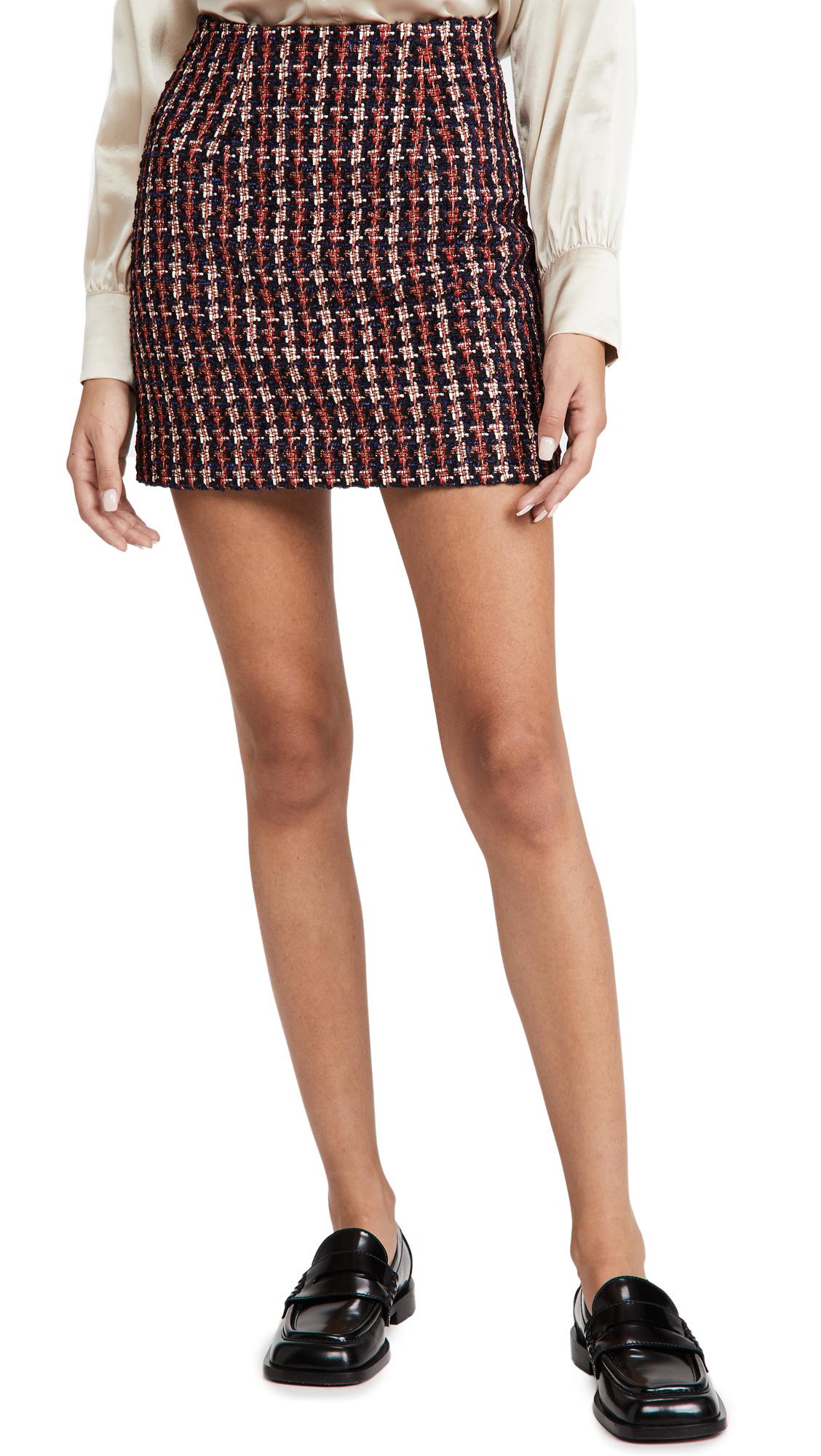 L'AGENCE Livia Mini Skirt