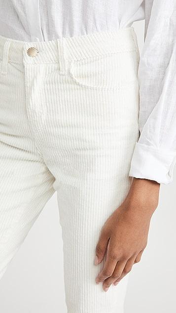L'AGENCE Oriana High Rise Straight Pants