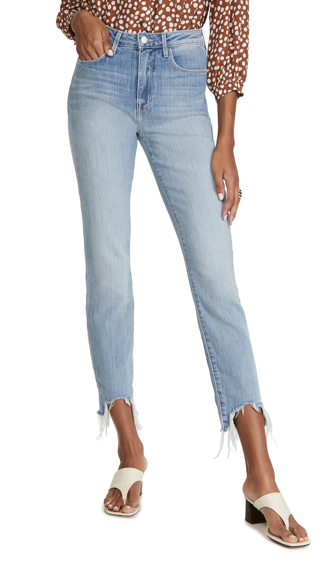 L'AGENCE Harlem High Rise Skinny Jeans
