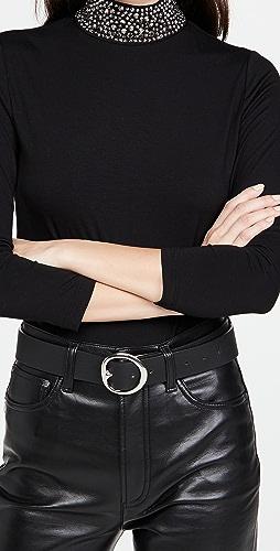 L'AGENCE - Mya 装饰半高领上衣