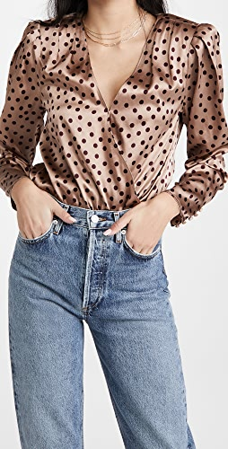 L'AGENCE - Brenda Puff Sleeve Bodysuit