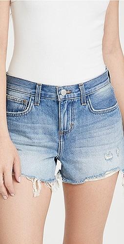 L'AGENCE - Audrey Mid Rise Denim Shorts