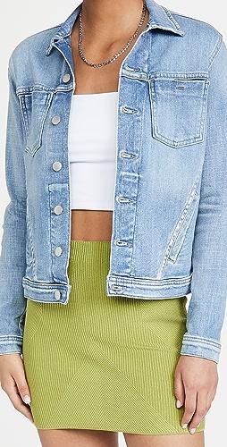 L'AGENCE - Celine Slim Femme Denim Jacket