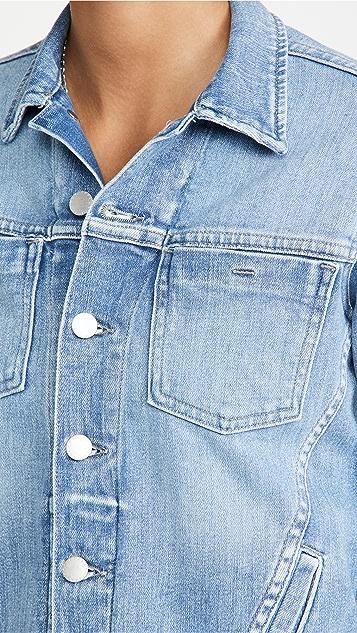 L'AGENCE Celine Slim Femme Denim Jacket