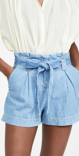 L'AGENCE - Hillary Paperbag Shorts