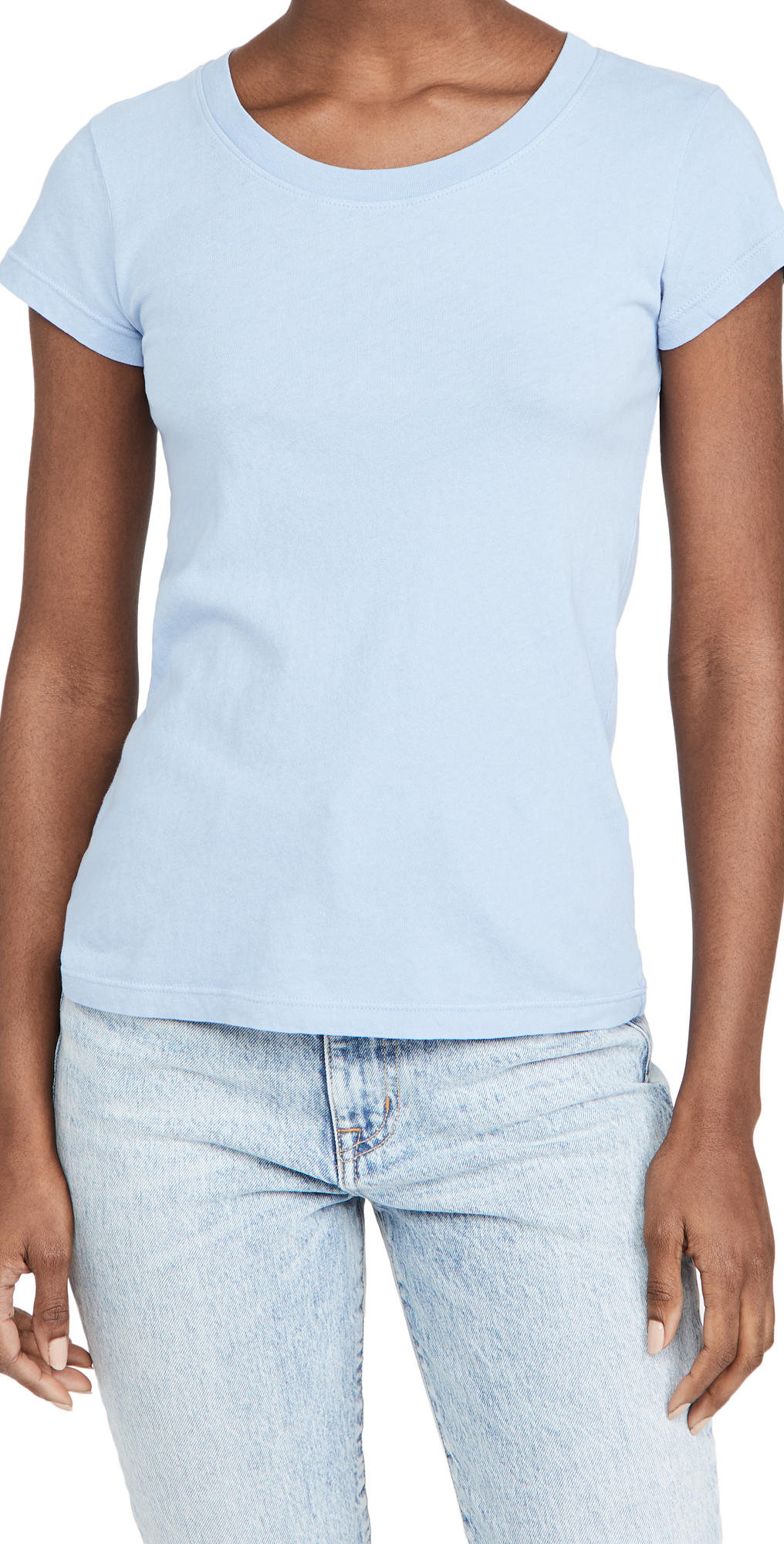L Agence CORY SCOOP NECK TEE