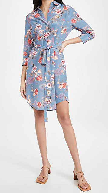 L'AGENCE Stella 短衬衣式连衣裙