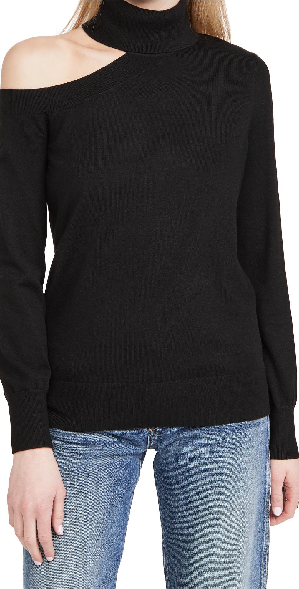 L'AGENCE Easton One Shoulder Sweater
