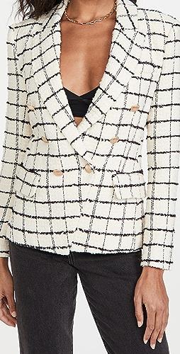 L'AGENCE - Kenzie 双排扣西装外套