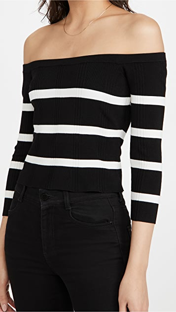 L'AGENCE Conner Sweater