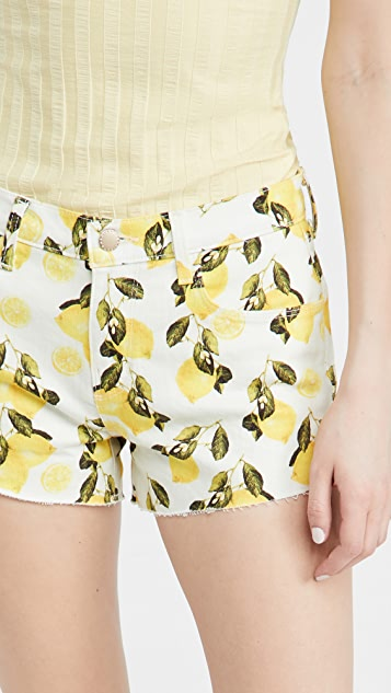 L'AGENCE Audrey Mid Rise Shorts