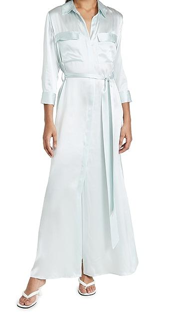 L'AGENCE Cameron 长款衬衣连衣裙