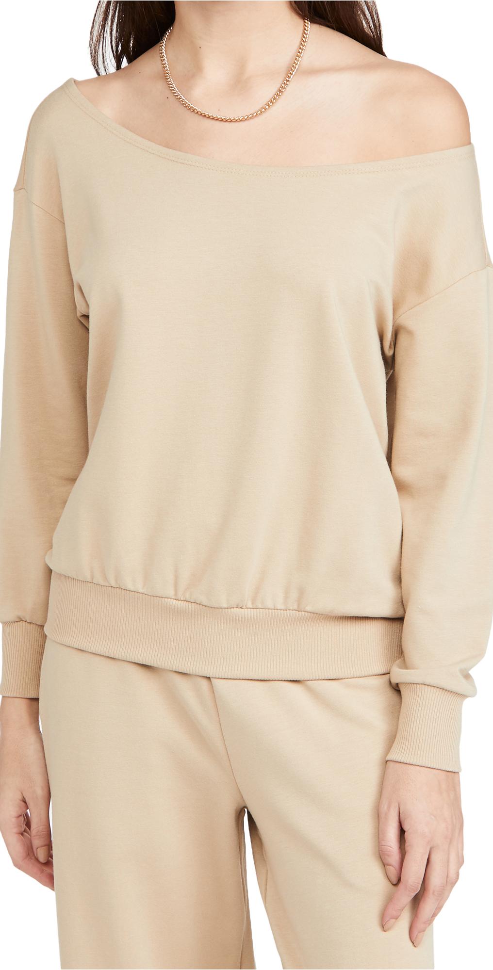 L'AGENCE Kimora Off Shoulder Top
