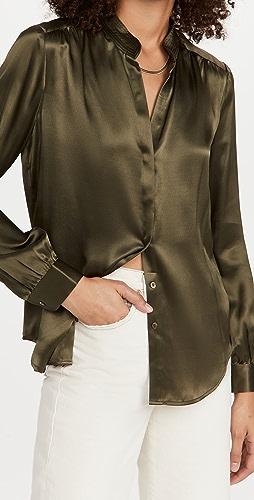 L'AGENCE - Bianca 立领女式衬衫