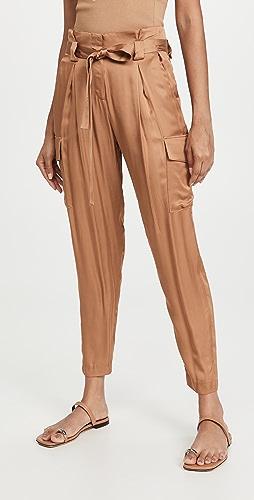L'AGENCE - Roxy 纸包工装裤