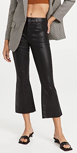 L'AGENCE - Kendra High Rise Crop Flare Jeans