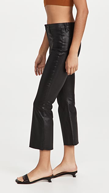 L'AGENCE Kendra High Rise Crop Flare Jeans