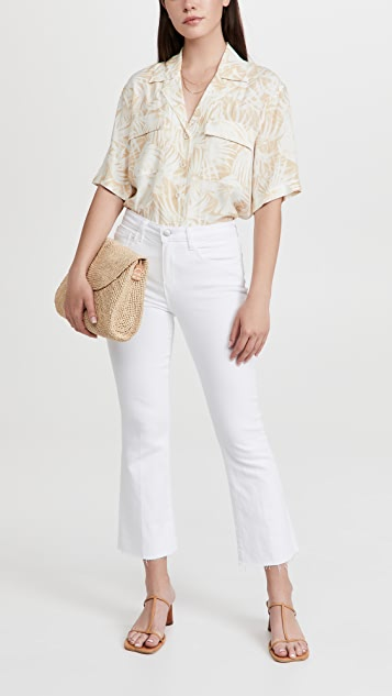 L'AGENCE Kendra Crop Flare Jeans