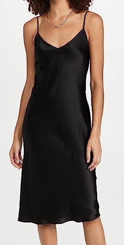 L'AGENCE - Jodie V Neck Slip Dress