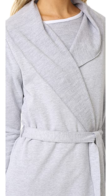 Love+Grace Fuzzy Fleece Robe