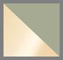 Matte Gold/Green