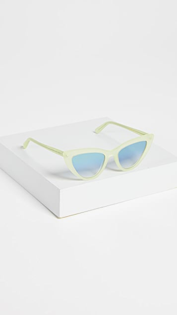 LGR Orchid Cat Eye Matte Sunglasses