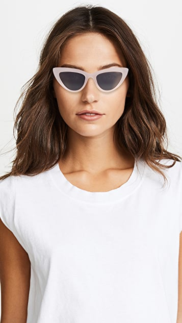 LGR Orchid Cat Eye Matte Sunglasses