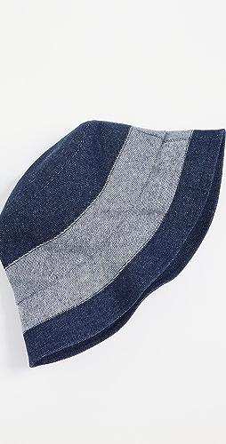 Lola Hats - Denim Slided Bucket Hat