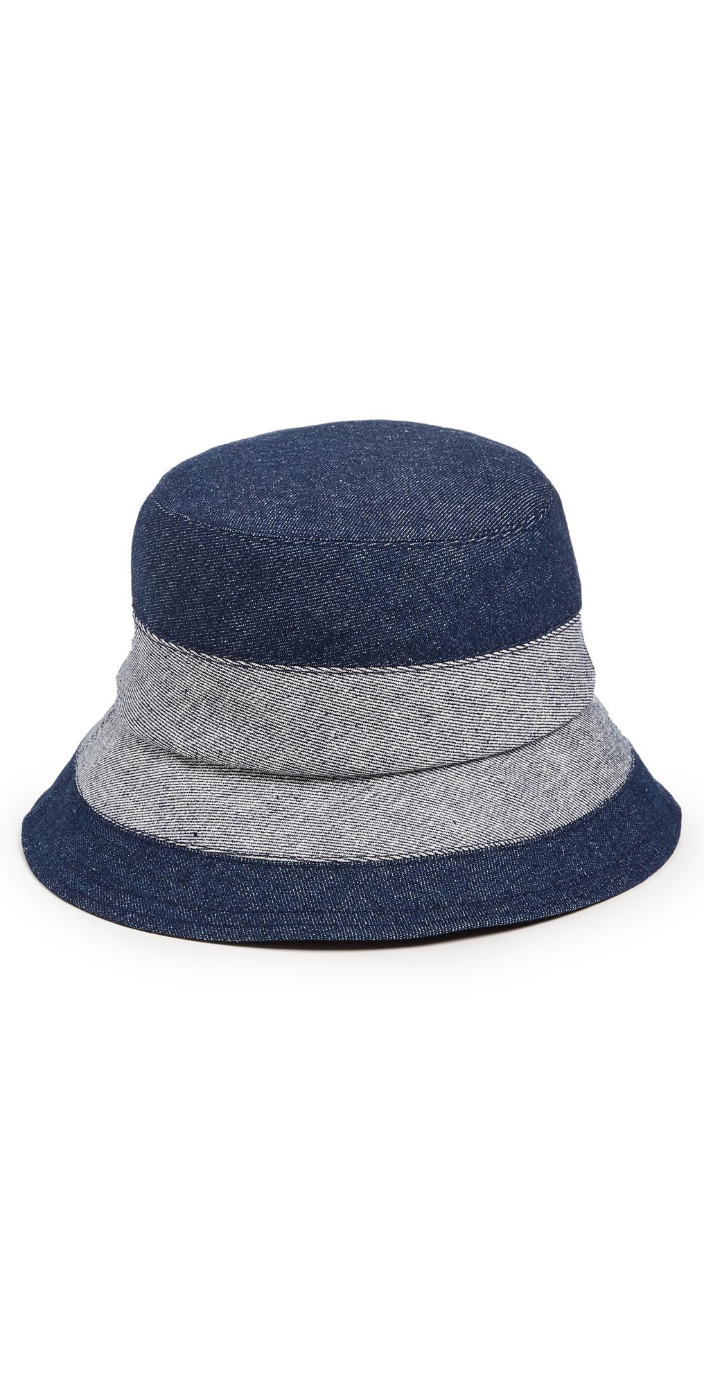 Denim Slided Bucket Hat