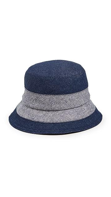 Lola 帽子 Denim Slided 渔夫帽