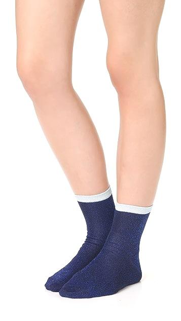 Liana Clothing Lurex Glitter Socks