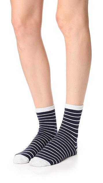 Liana Clothing Lurex Striped Socks