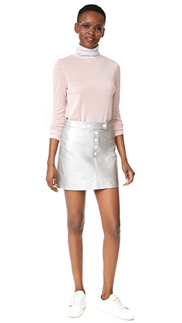 Liana Clothing Full High Turtleneck Pullover