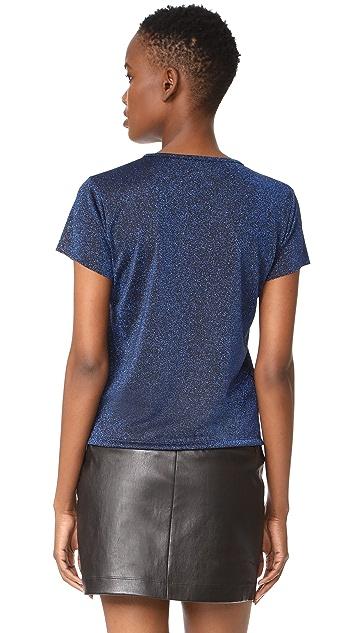 Liana Clothing Glitter Stria Tee