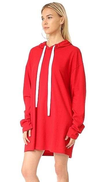 Liana Clothing Платье с капюшоном Go To