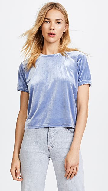 Liana Clothing The Velour Margo Tee