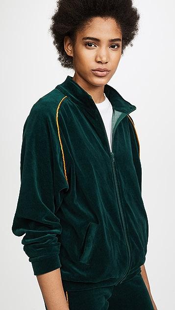 Liana Clothing Plush Zip Jacket